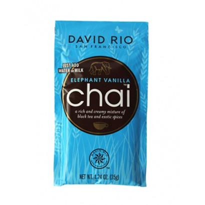 David Rio Elephant vanilla chai zakje