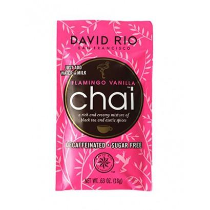 David Rio Flamingo Vanilla Decaf chai zakje