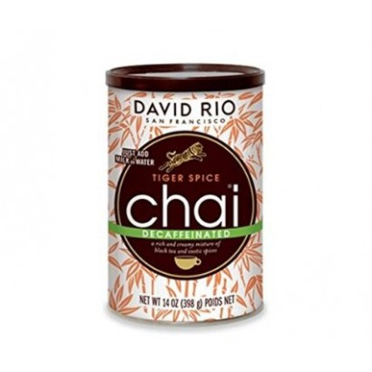 David Rio Tiger spice decaffeinated chai
