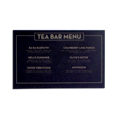 Theeplank Tea Barney Zomer