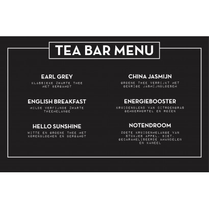 Theeplank Tea Barney One for All