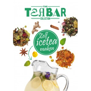 Gratis Ice Tea recepten kaart tea bar