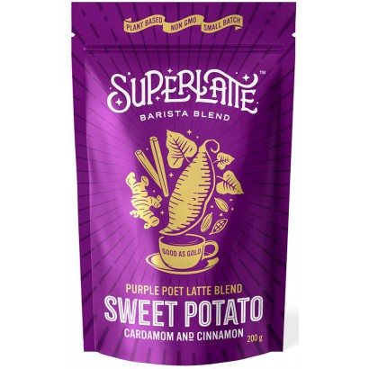 Purple Poet Sweet Potato 200 gram SuperLatte