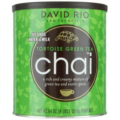 David Rio XL Tortoise green tea chai
